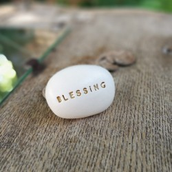Magic Pebble - BLESSING gold