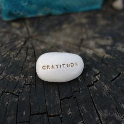 magic Pebble - GRATITUDE gold