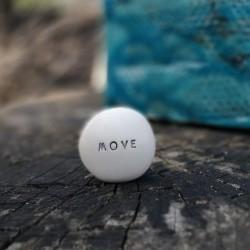 Magic Pebble - MOVE silver gray