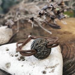 Antik hatású kerámia karkötő