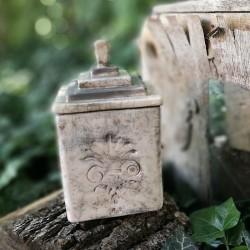 Antik hatású raku doboz