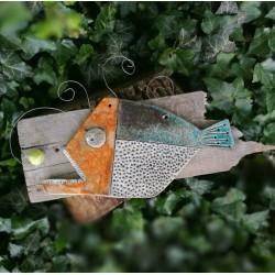Kerámia hal dekoráció