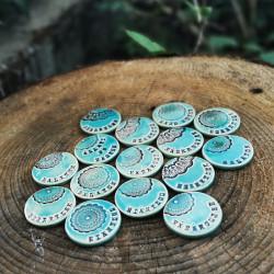 Kerámia dekor mágnes felirattal - BALATON
