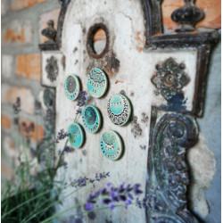Kerámia dekor mágnes felirattal - HIÁNYZOL