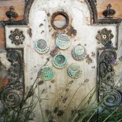 Kerámia dekor mágnes felirattal - ÁLLATI JÓ VAGYOK