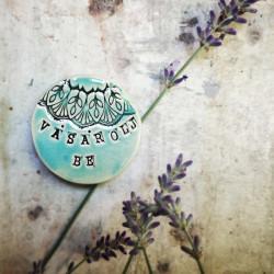 Kerámia dekor mágnes felirattal - VÁSÁROLJ BE