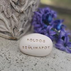 Varázskavics - BOLDOG SZÜLINAPOT arany