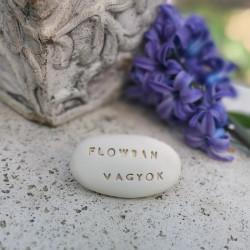 Varázskavics - FLOWBAN VAGYOK arany