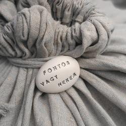 Varázskavics - FONTOS VAGY NEKEM ezüst