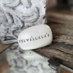 Varázskavics - FELVÁLLALÁS ezüst